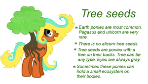 MLP Tree seeds: Open species by IcyWinterBerry