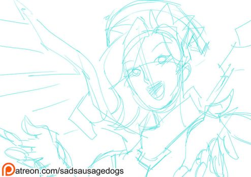 SSD Patreon - Mercy by aimo