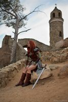 Aela The Huntress by Ken-Eden