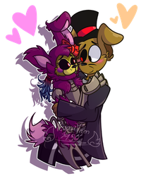Sweet Cuddle .:Commission:. (3/3) by PegasusVixen7950
