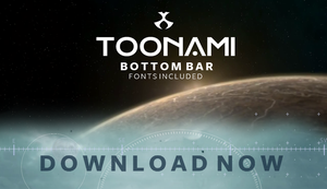 Toonami - 2016 Bottom Bars by JPReckless2444