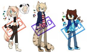 3 cute Adopts [closed]--- {0 left }-- More comming by Ilpholi