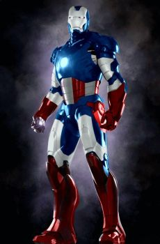 Iron Man America by Scorpion44