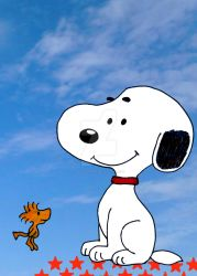 Snoopy and Woodstock by GabyCoutino