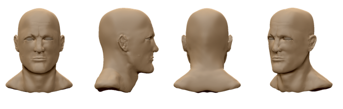 Woody Harrelson Speed Sculpt Bust by SlayersStronghold