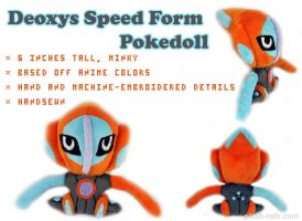 Pokedoll - Deoxys speed form