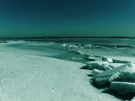 Ice beach by MellyDesign
