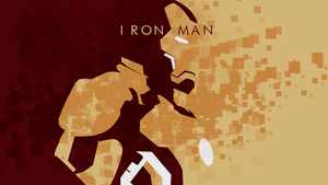 Iron man 3 minimalistic wallpaper by Browniehooves