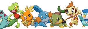 The Starter Pokemon by Tails19950