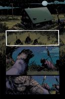 Dawn of the Planet of the Apes #2 pg1 Colors by JasonWordie