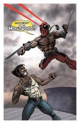 Deadpool Goes Hollywood by ChrisMoreno