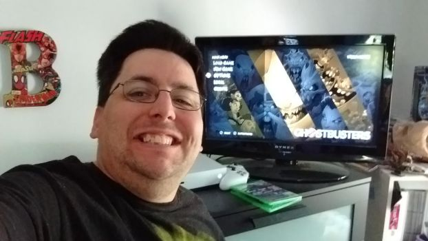 Ghostbusters XBox One Game Selfie by OtakuDude83