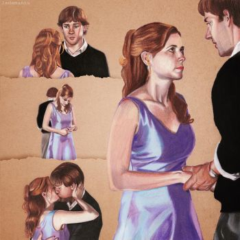 Jim and Pam - Just Once by Ladamania
