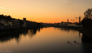 Florence sunset 2 by PinkVillain