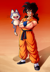 DB: Yamcha and Puar by carapau