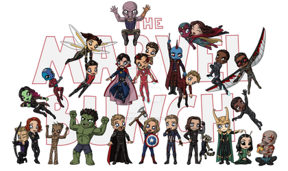 The Marvel Bunch by KaliyaKarnage