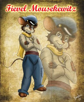 Mr. Fievel Mousekewitz by The-B-Meister
