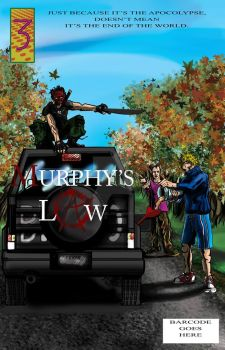 Murphy's Law Issue 3 Cover concept by PiperQunizel