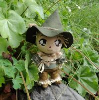 Commission, Chibi Plushie of the Scarecrow by ThePlushieLady
