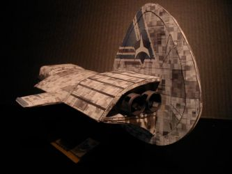 Frigate Back Iso View by ARMORMAN