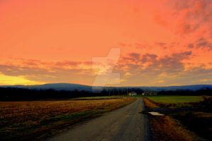 Rural Sunset by LadyPhotographer492