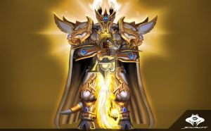 ...Commission: Draenei Paladin III... by ShadowPriest