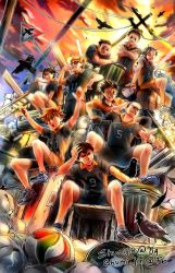 Haikyuu - Crows of the Garbage Heap by Shumijin