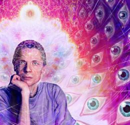 Homage to Alex Grey by Adam-Scott-Miller