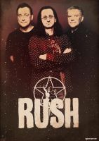 Band Poster: Rush by elcrazy