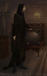 The Potions Master by HapticMimesis