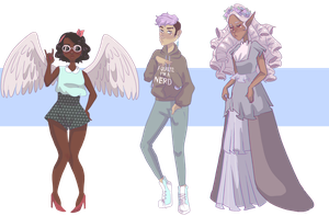 [ $2 / 200 points | CLOSED ] aesthetic adopt mix by uviixo