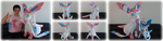 Life-size Sylveon Plush by Diffeomorphism