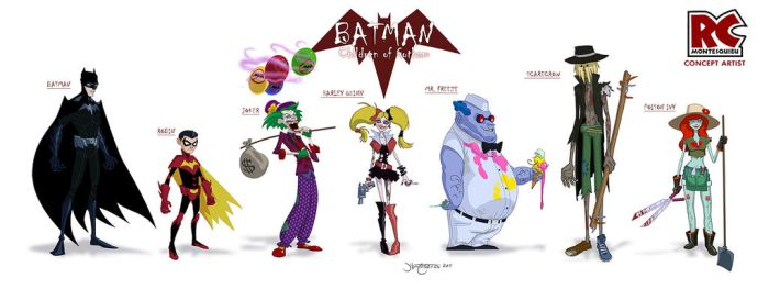 Batman:Children of Gotham by RC-draws