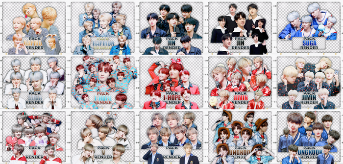 20171013 PACK RENDER BTS OKTEAM ((= by okteam