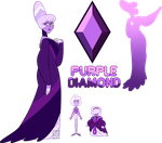 Mystery Adopt- Purple Diamond by XombieJunky