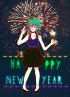 Welcome 2016! by Merliina
