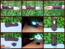 Bracer of Light - Final by RawringCrafts
