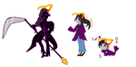 Some fantroll family I guess by XxSomeHomestuckxX