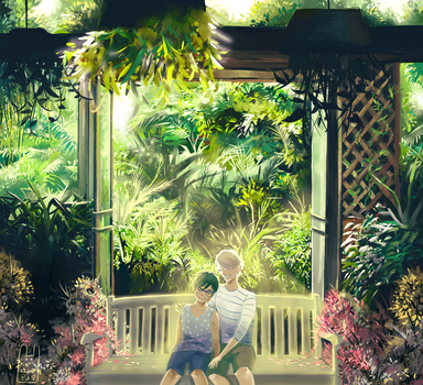 Lost in the Garden by Guava-Pie