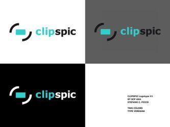 clipspic logo by spicone