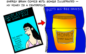 Songs Illustrated: My Honey Is A Centerfold by EnergyBrainComics