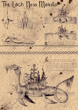 THE LOCH NESS MONSTER - NESSIE by Zellgarm