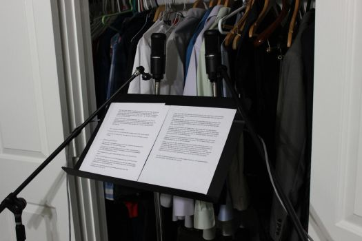 My Voiceover Recording Booth by drfarrin