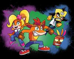 A Crash Comeback! It's Crash Bandicoot! by SonicKnight007