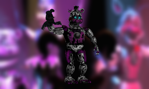 Nighttime Freddy/Nightmare Funtime Freddy by Zacmariozero