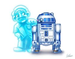 Kenny Baker by Gaothun