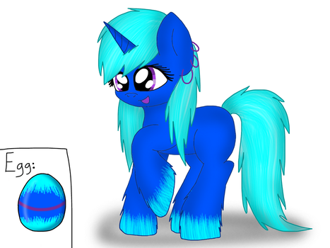 Pony Egg #4 Hatched! by CoolAdoptables