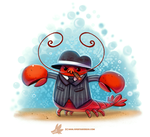 Daily Paint #1238. Mobster by Cryptid-Creations