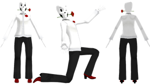 MMD DanceTale Papyrus (DL) by KittyNekkyo