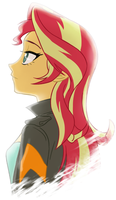 sunset by Ta-Na
